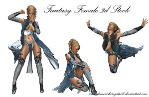 Fantasy Lady PNG Stock by DemoncherryStock