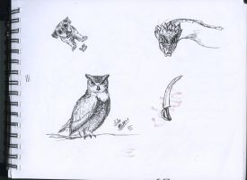 Some Sketches #1 by NetBlitzer