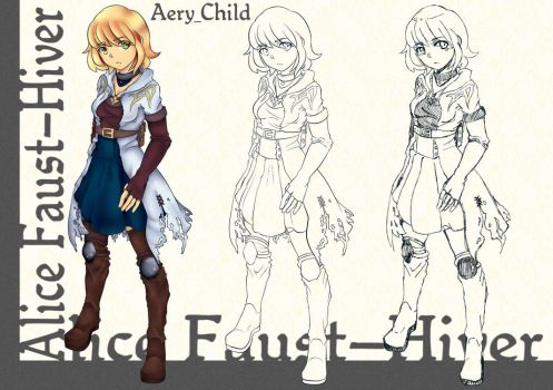 Alice Faust-Hiver Character Page by Aery-Child