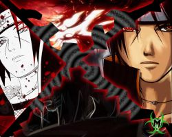 itachi wallpaper by anbukakashi07