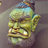 Orc from the side. by Myandra