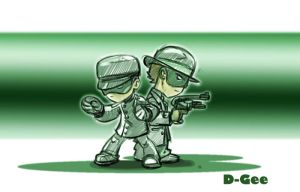 the Green Hornet by D-Gee