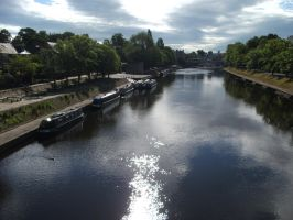 RIVER OUSE - YORK  - 2011 by carlos62