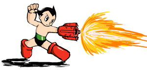 Pchat - Astro Boy by paxiti