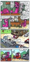 MLP Comic Death Punch by Sketchywolf-13