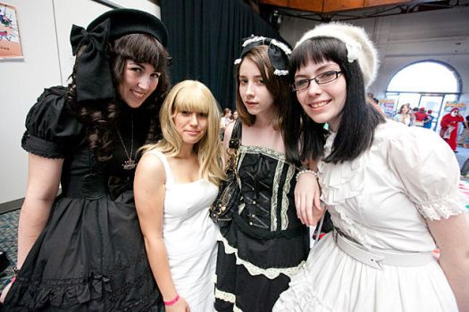 Me and Friends by gothiclolita-girl