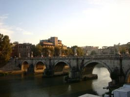 Ponte S. Angelo by English-Bulldog