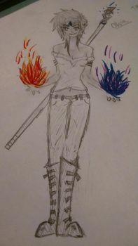 Inquisitor Lavellan by LightningxHope0