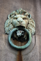 DSC08166 Lion Head With  Mooring Ring by wintersmagicstock