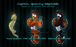 Livyatan (Leviathan) Upcoming Adopts by ophiurida