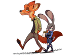 Nick and Judy by SupaCrikeyDave
