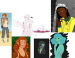 Proof I'm Alive: Sketchdump by Profiling-Reality