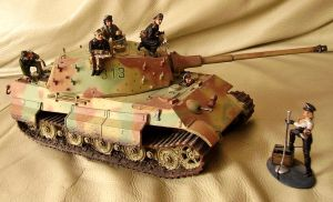 Sd.Kfz. 182 Panzer VI ausf B Tiger II (1) by General-Custer