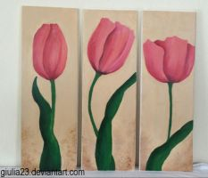 Flower painting by giulia23