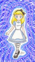 Alice :With a Background: by HirokoTheHedgehog