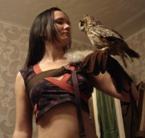 With owl9 by SariennStock