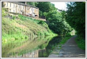 Life By The Canal by Saved-from-Myself
