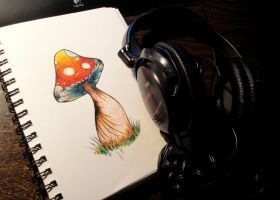 Mushrooms and Music by FireStump