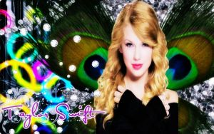 taylor swift with wings ! by Sparklingbarbie