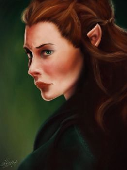 Tauriel by AisyaShurfa