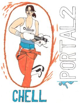 Chell by supersonicsjm
