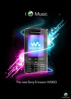 Sony Ericsson W960i by big-dan-designs