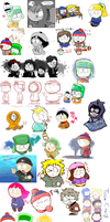South park doodle 2 by hoshikagami