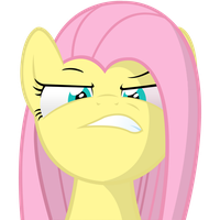 MLP angry Fluttershy by RudolphVonGrobel