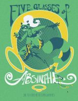 Absinthe T-shirt by egypturnash