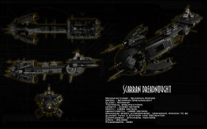 Scarran Dreadnought ortho by unusualsuspex
