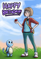 Happy Birthday Wally! by Epifex