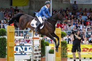 3DE Show Jumping Phase Stock 118 Landing by LuDa-Stock