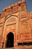 Agra Fort entrance 2 by wildplaces