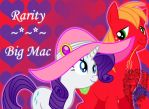 Rarity and Big Mac by TheDocRoach