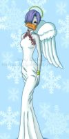 Christmas Angel by BoricuanKitty