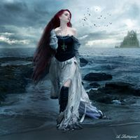 Annabel Lee by Lattapiat