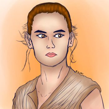 May the 4th Be With You: Rey by MandyHavoc