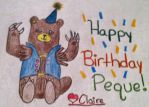 Happy Birthday Peque! by TheClaireNecessities