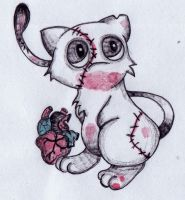 Creepy or Cute: Mew by Bonzo-1039