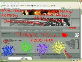 thank j00 for 2000 hits by omen-of-evil
