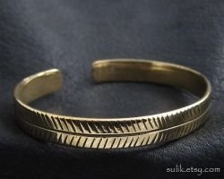 Bronze bracelet from Ancient Rome by Sulislaw