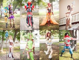 league of legends group cosplay by Gekidan