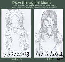 Draw This Again Meme by agitarin