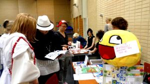 FinnishComics in Animecon 23 by misterhessu