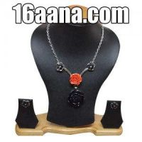 Beautiful Necklace With Earrings by solahaana