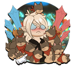 Lord of Verminion - Puppy Pile by Vergiliaux