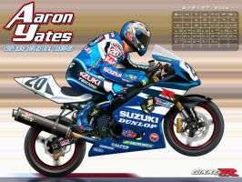 Gixxer.com calendar 8 of 12 by TreborDesigns