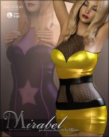 Mirabel for Devious Dress G3 by cosmosue
