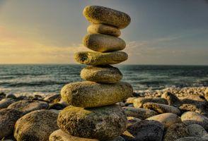 Pebble Stack by darrenchadwick1311