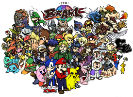 Super Smash Brothers BRAWL by PharoahArch